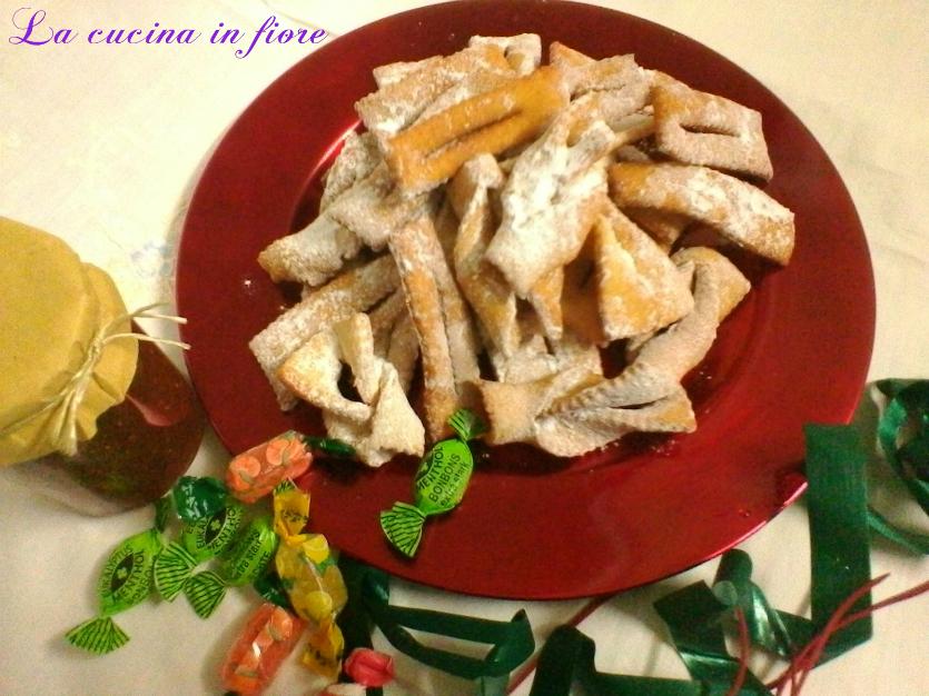 Ricetta tradizionale delle chiacchiere fritte di carnevale
