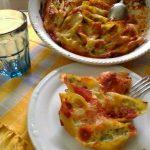 Conchiglioni ripieni al forno con carciofi,ricotta,mozzarella