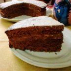 Torta cioccolato,nutella e mascarpone,la mia delizia cioccolatosa