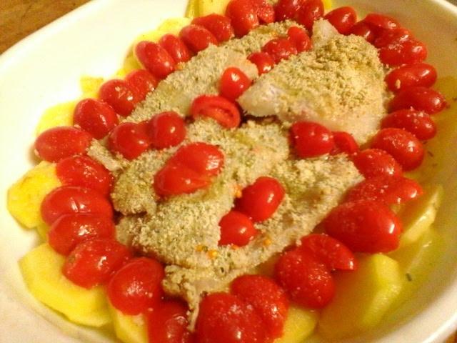merluzzo-al-forno-con-gratin-alle-erbe-patate-e-pomodorini-5