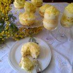 Torta mimosa sbagliata?Ecco come rimediare in modo semplice e creativo.Tortine o bicchierini?